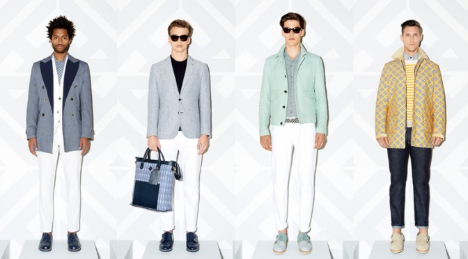 Hardy Amies Spring Summer 2015 Collection 'Interiors'