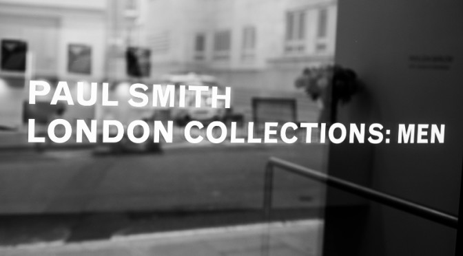 PAUL SMITH SHOES AT LONDON COLLECTIONS: MEN