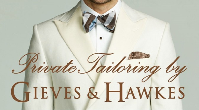 Gieves & Hawkes London Men Collections Spring / Summer 2015